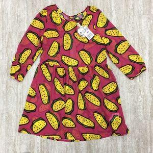 Iron Fist So So Happy Taco Crazy Dress Size: Small